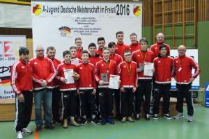 Die saarländische Mannschaft 2016